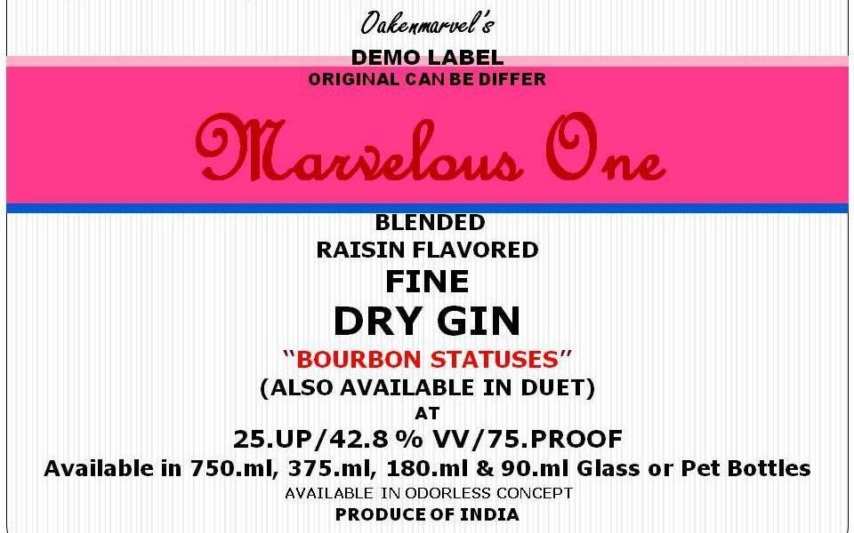 Dry Gin (Bourbon Statuses)
