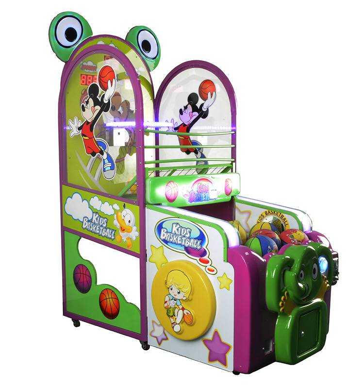 Elephant basketball kids sports coin operated game machine
