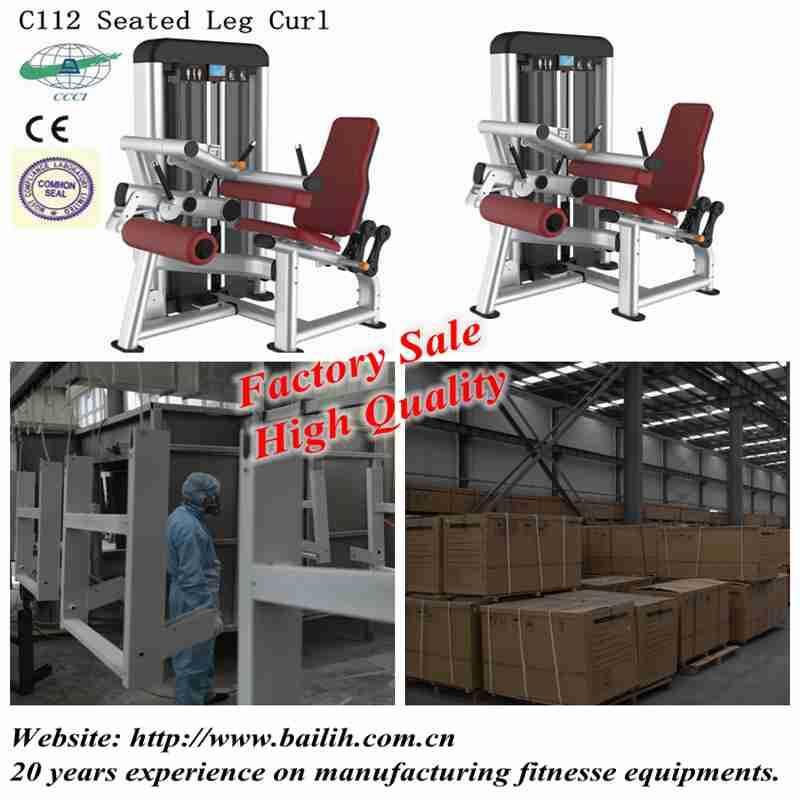 Hot sale C112A Seated Leg Curl Machine Leg Curl Gym Strength Equipment