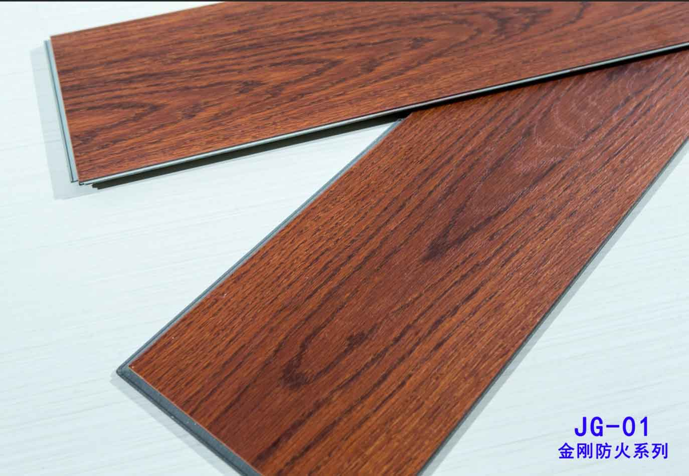 Wholesaler price supply vinyl plank 10mm SPC fireproof click flooring