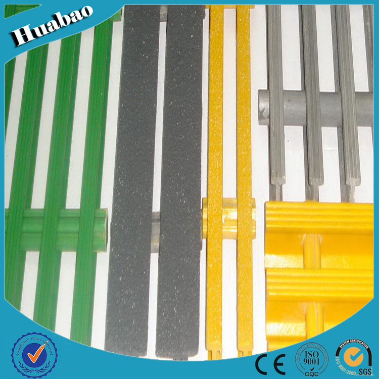 High quality Pultruded molded corrosion resistant high strength durableFRPGrating
