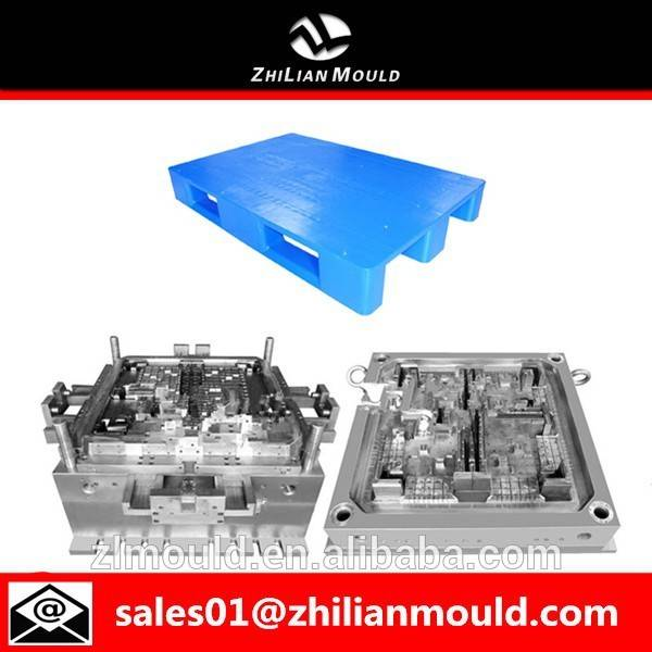 zhejiang high strength flat top plastic pallet moulds