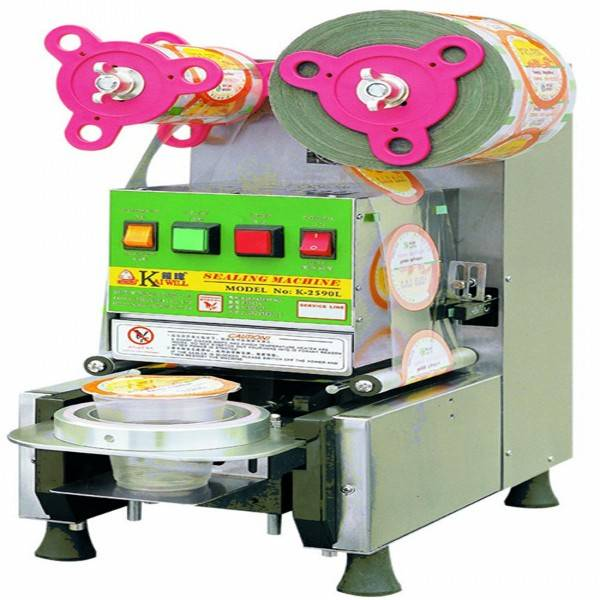 FK400 made in taiwan plc controlling auto sealing machine for plastic cup