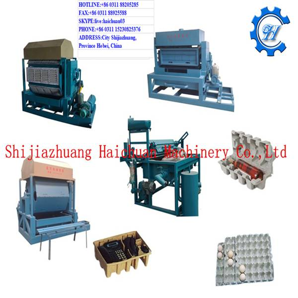 Haichuan Automatic Large Machines Making Egg Tray