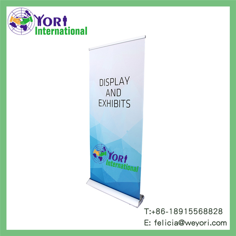 Yori new model new advertising product flex roll up banner stand
