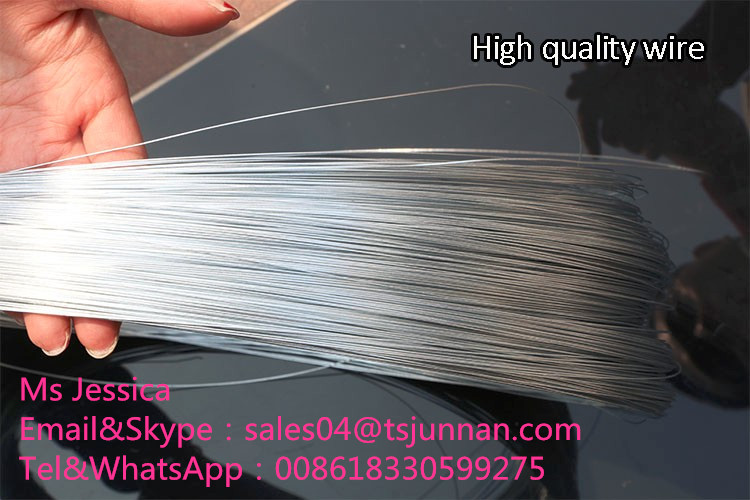 Low Price High Quality BWG 20 21 22 GI Galvanized Iron Wire Galvanized Binding Wire
