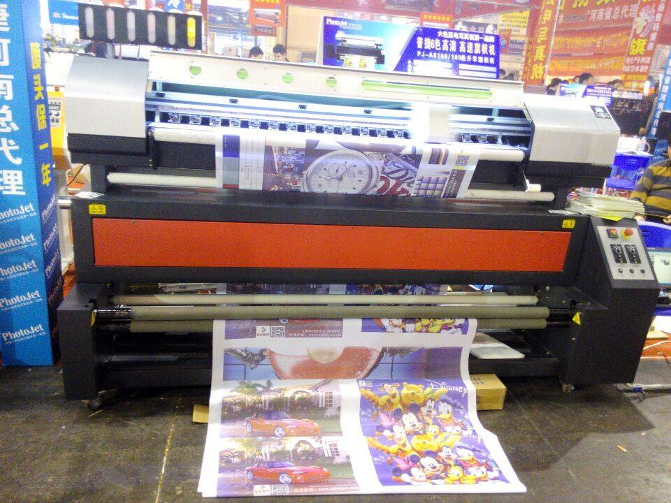 Espon print head Sublimation printer machine for color flags printing