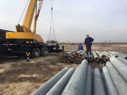 Prestressed Concrete Spun Pile/Pole, Phc Pile PHC 500-100/125 AB A