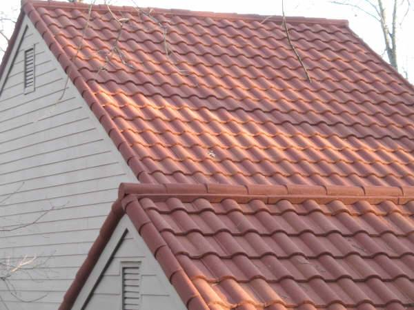 Colored Stone Coated Steel Roof Tile