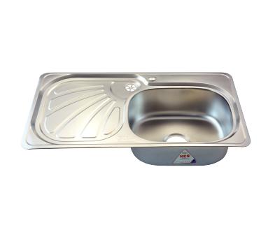 Stainless steel kitchen sink - Rossi Economic - RA22