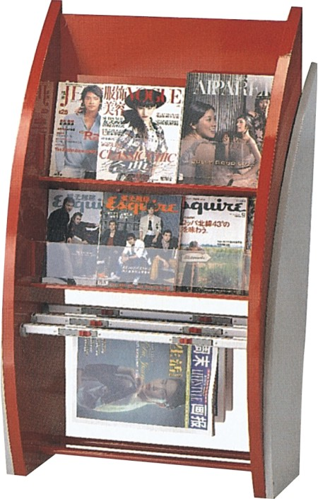 Information rack, brochure shelf,magazine shelf,display stand