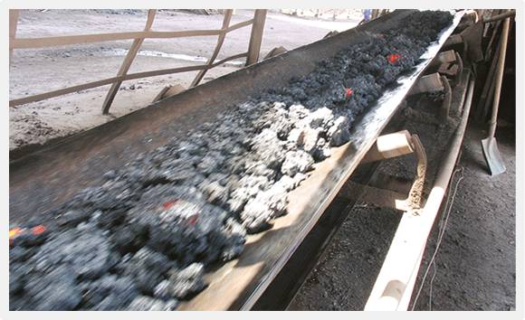 Rubber Heat Resistant Conveyor Belt for Sintering Ore Coke Cement Clinker Foundry