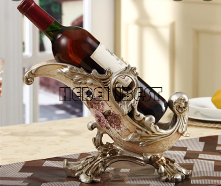 Red wine shelf (cabinet) in Europe Style for home decor