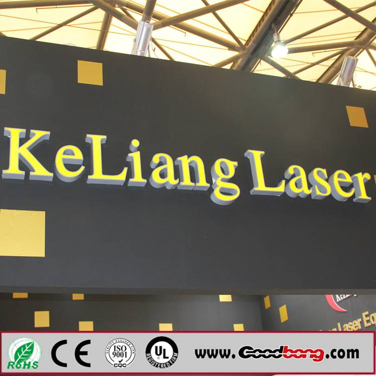 Thermoformed large plastic LED backlit advertising letters sign