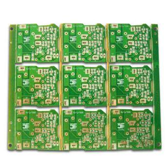 High quality 4-layer PCB with immersion gold finishing and good multilayer PCB manufacturer