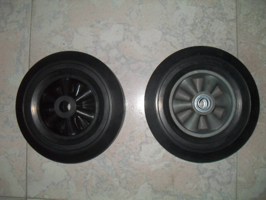 solid  wheel  10x2.5 for high quaility and good sale