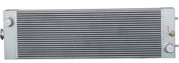 Aluminum Excavator Water Cooler Radiator For Komatsu PC200-8
