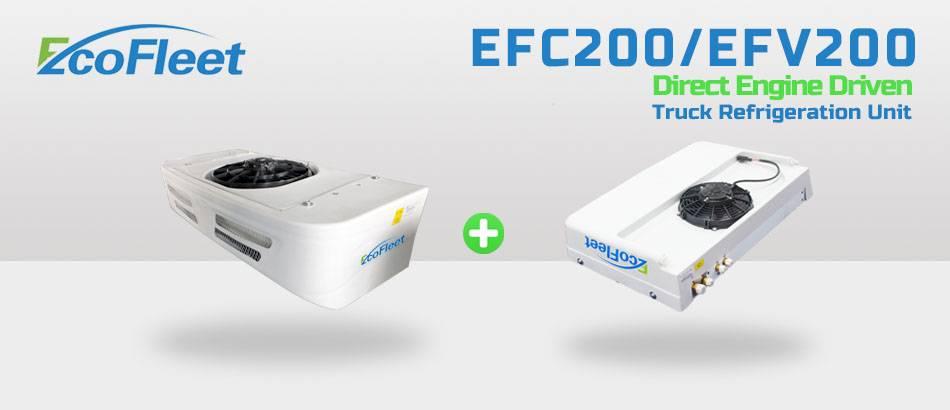 Direct Engine Driven Truck Refrigeration Units EFC200/EFV200