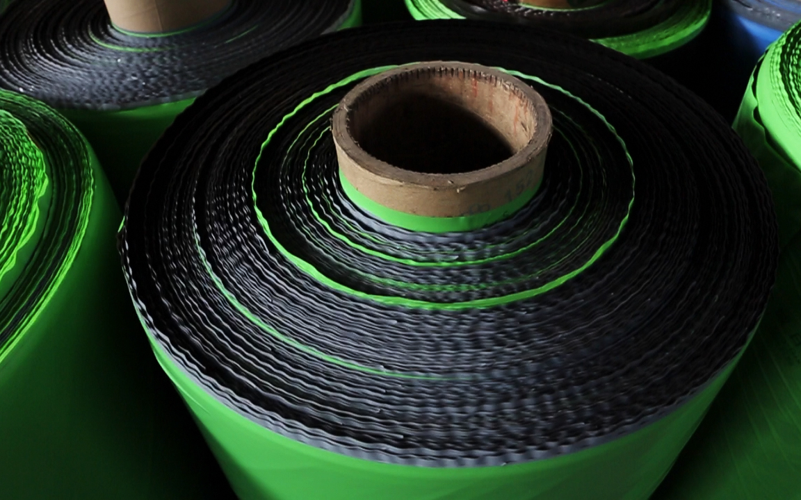 Green & Black HDPE Strength Films