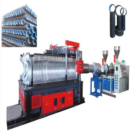 the huge caliber hollowness wall winding pipe production line