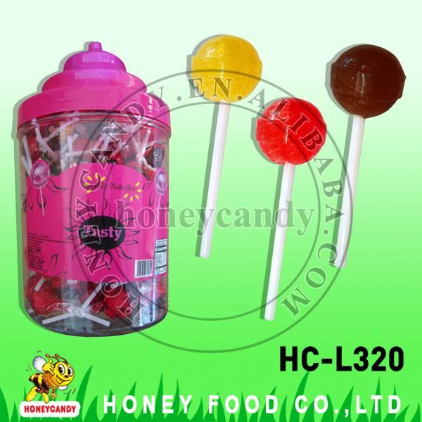 18g Tasty with Bubble Gum Lollipop