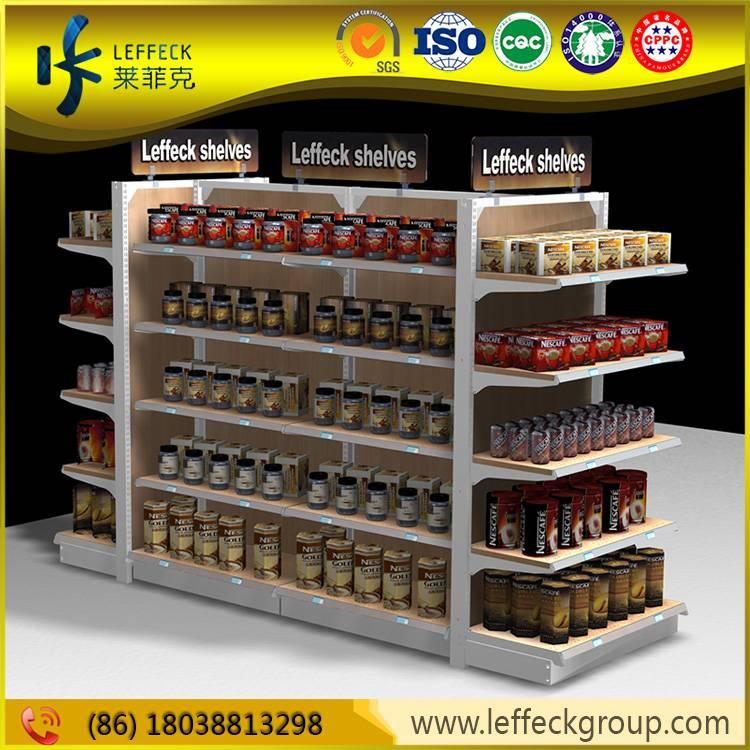 Heavy duty easy disassemble supermarket gondola shelves