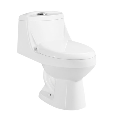 ceramic one piece s-trap toilet for South America market