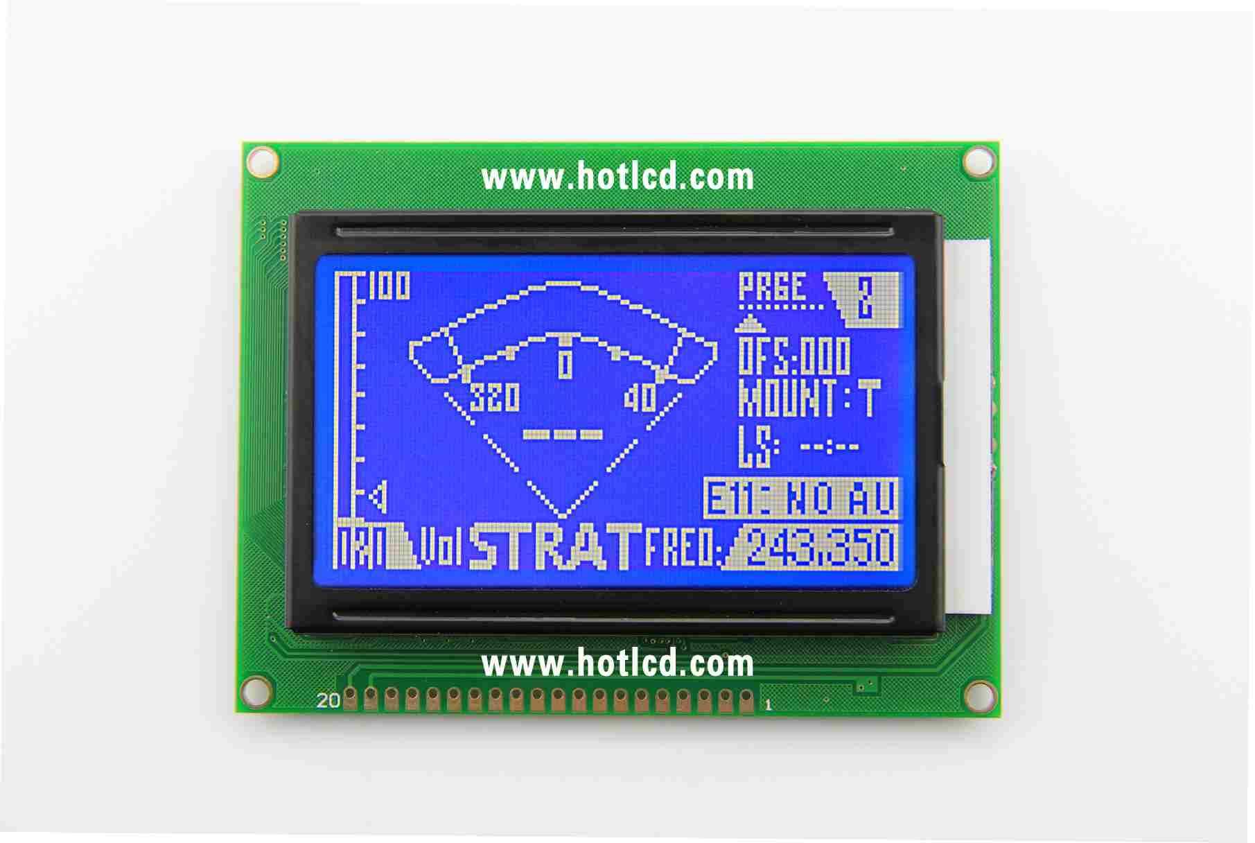 12864D- graphics dot matrix module