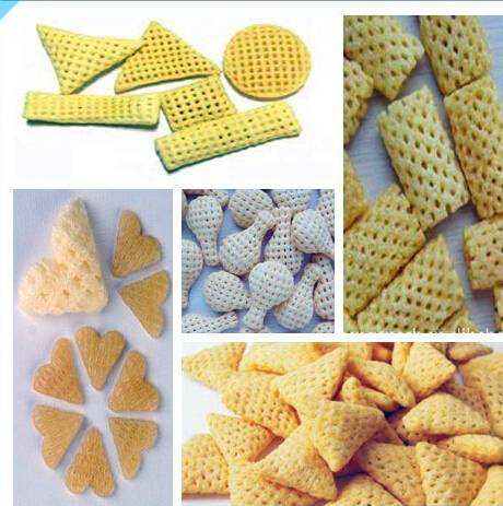 2D3D snacks food processing machine
