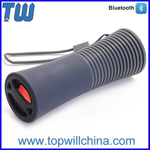 Portable Power Bank Function Bluetooth Mini Speaker with Lanyard