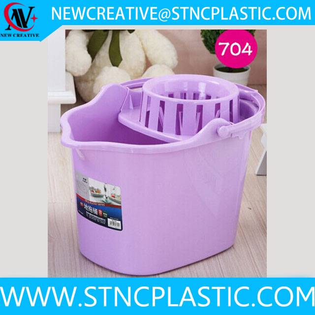 hot sale house cleaning tool plastic mop bucket