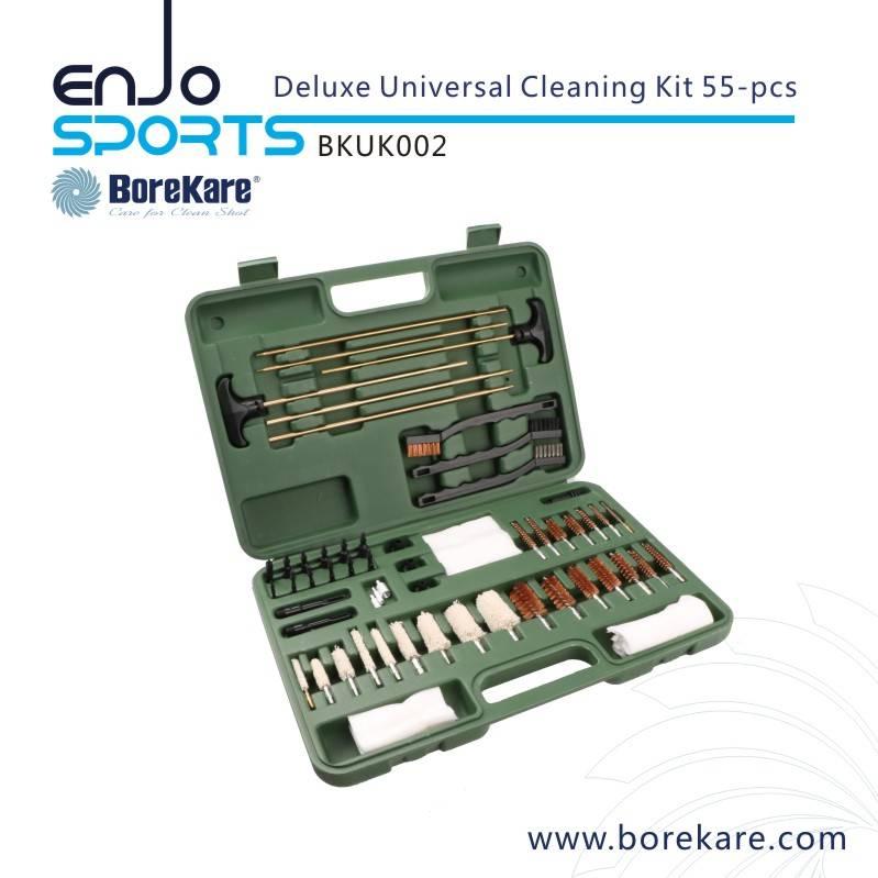 Borekare 55-PCS Deluxe Universal Gun Cleaning Kit