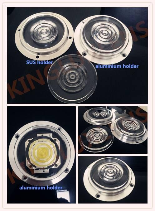 glass 66mm  fresnel lenses  for led light