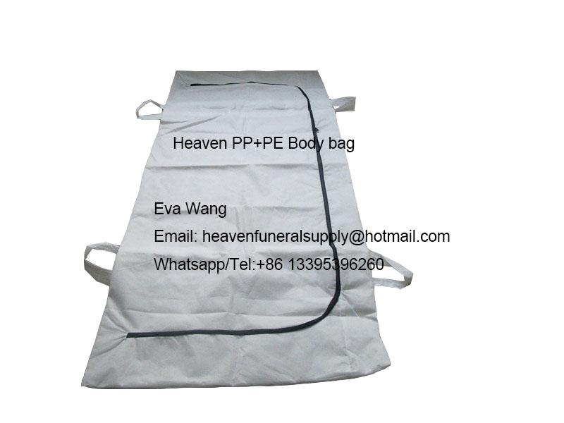 PP+PE Adult American Medical Body Bag 4handles