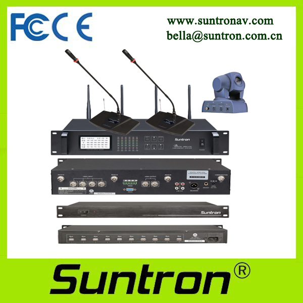 SUNTRON ACS-1010U Video Tracking Wireless Conference System