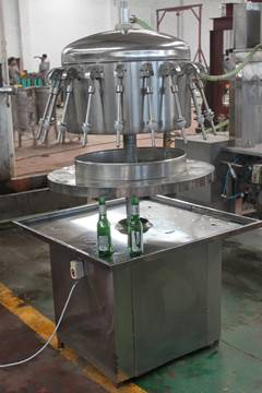 HG-GZJ-A Siphon type liquid filling machine