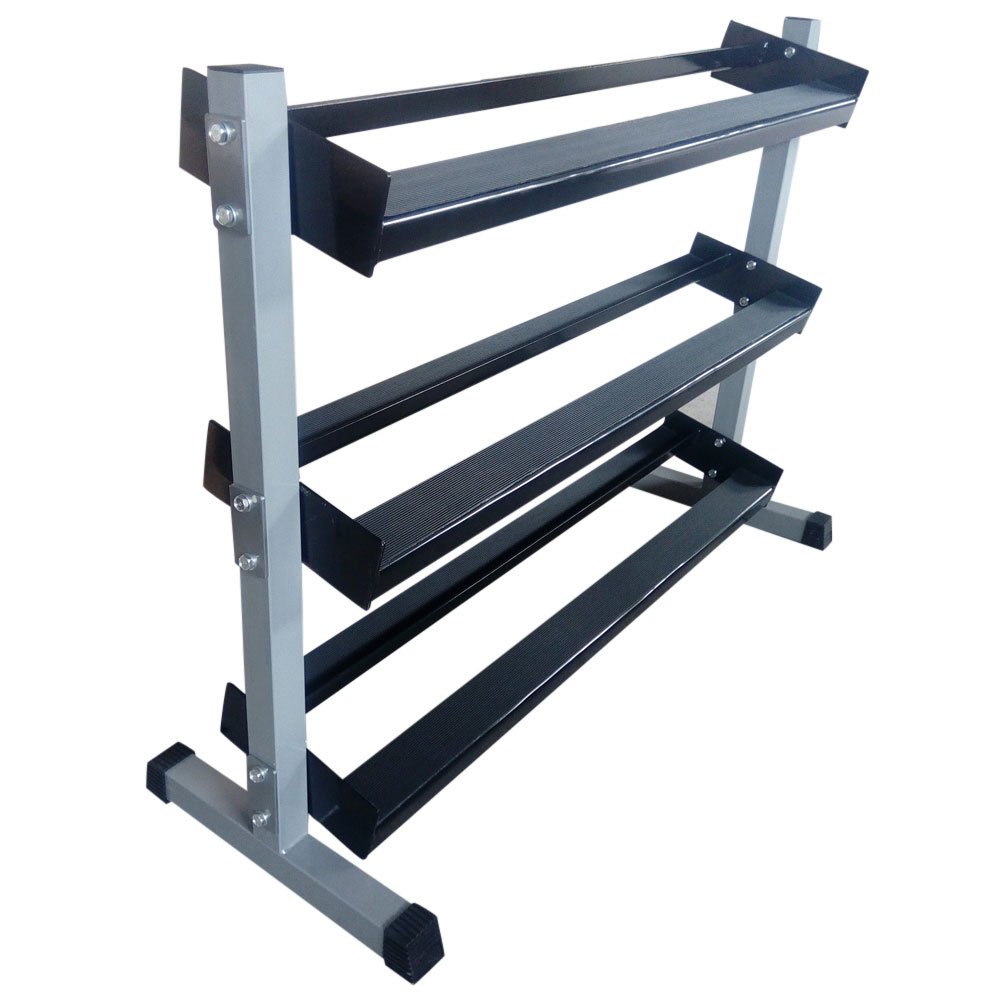 3 Layers Dumbbell Rack