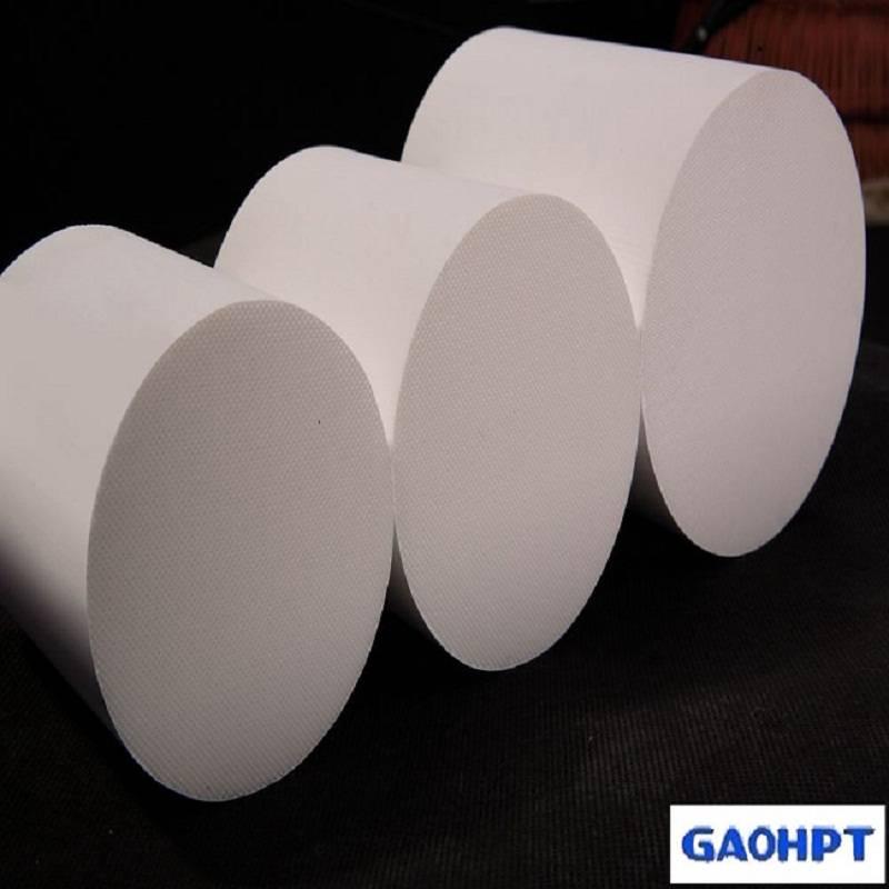 exhaust air system cordierite honeycomb ceramics