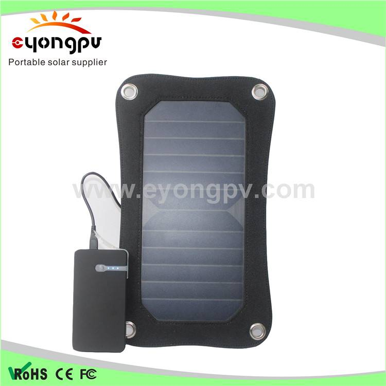 Manufacturer supply 6.5W high efficiency solar charge pack