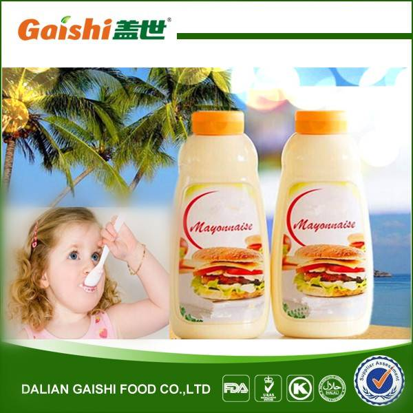 hot sale high quality delicious real mayonnaise brand