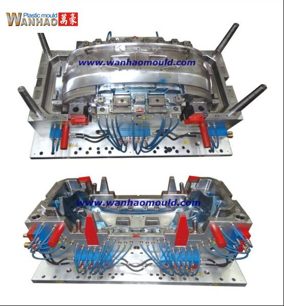 Auto Bumper Injection Moulds Auto Parts Moulds