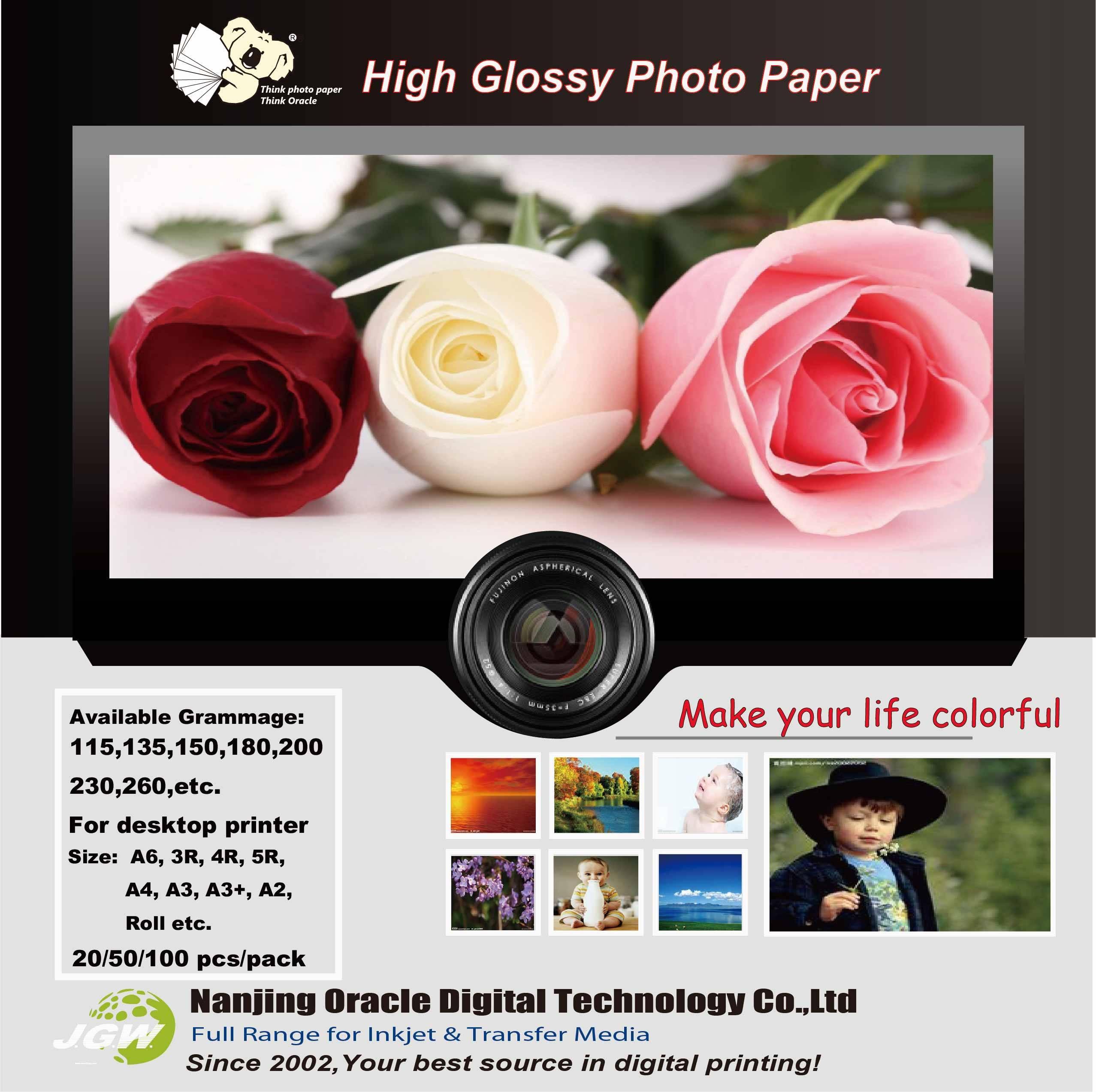 KF 180g Super Glossy Photo Paper