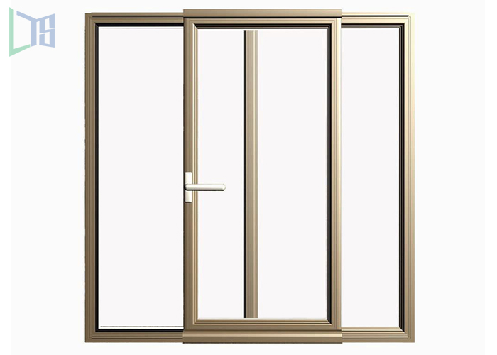 2017 trending products price of aluminium sliding window new Aluminium Double glass Sliding Windows