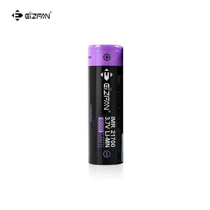 Efan IMR 21700 5000mAh 10A/15A 3.7V battery flat top