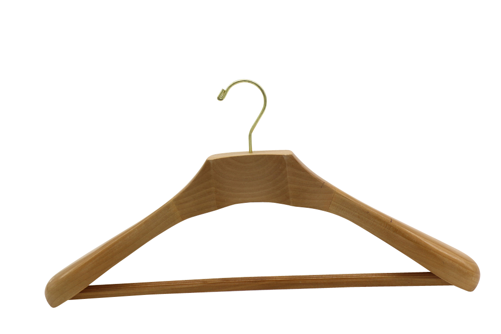 France Paris luxury wooden hangers wooden suit hangers