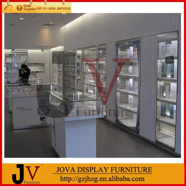 Top quality gorgeous jewelry showroom furniture and interior design(Direct Manufacturer)