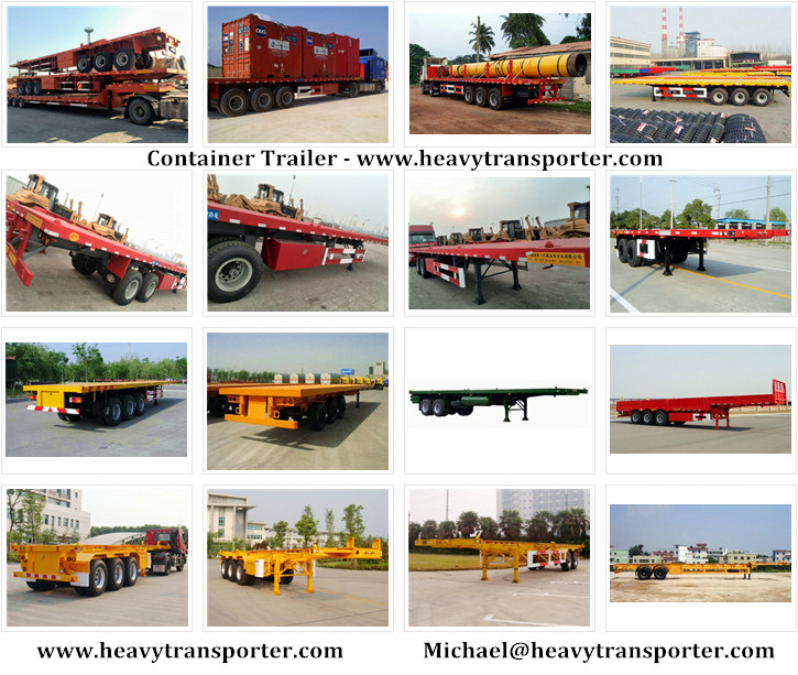 Container Trailer-Flatbed Trailer-Skeleton Trailer