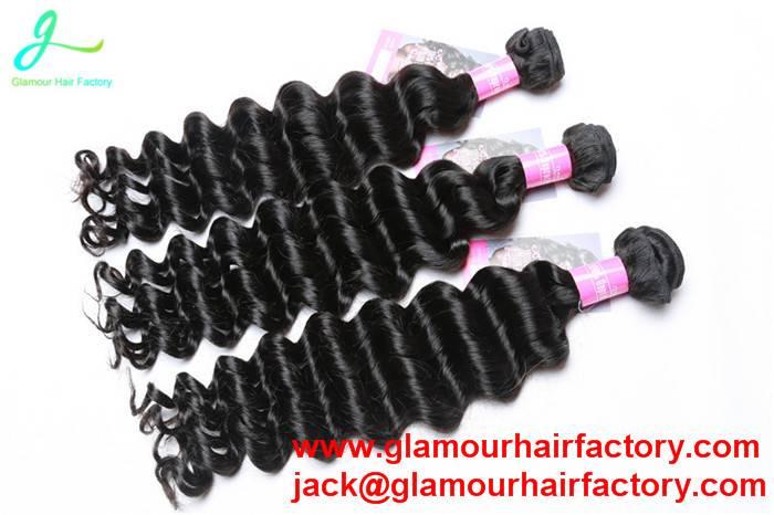Brazilian Virgin Hair Bundles Deals Brazilian Deep Wave Hair weaving hair extension