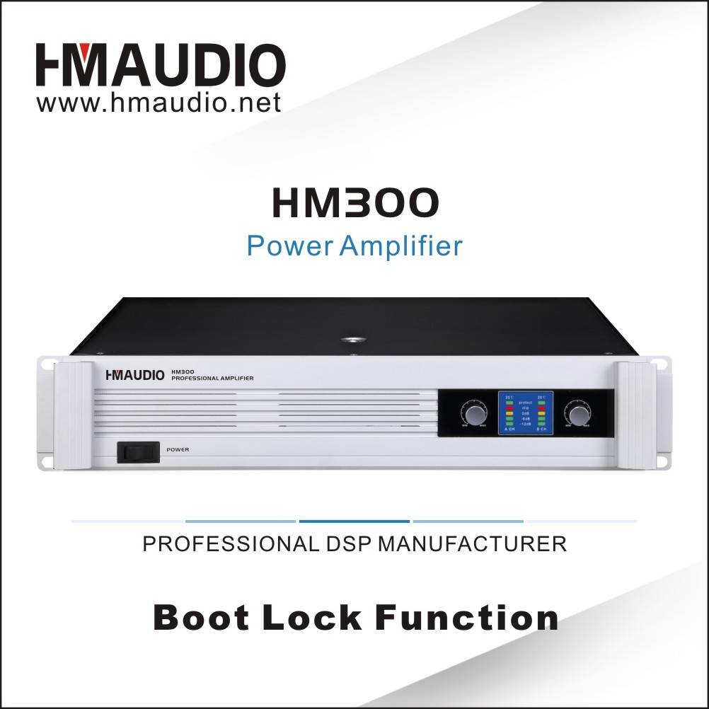 HM300 High Quality Power Amplifier 300W