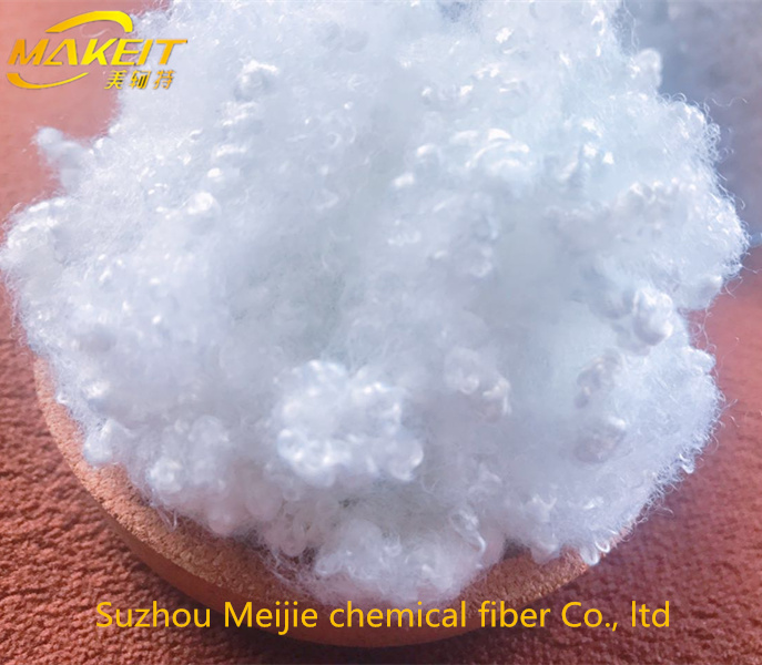 Siliconized ball polyester fiber filling pillow